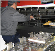 CNC Press Brake Metal Forming Services